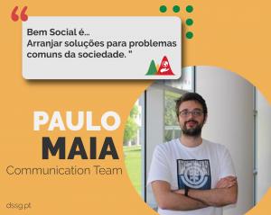 Faces of DSSG: Paulo Maia [Communication]