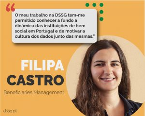 Faces of DSSG: Filipa Castro [Gestão de Beneficiários]
