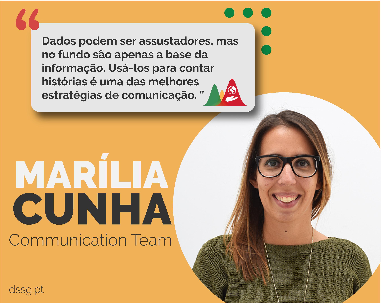 Faces of DSSG: Marília Cunha [Comunicação]