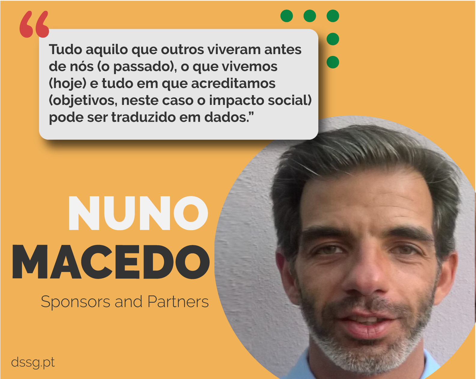 Faces of DSSG: Nuno Macedo [Sponsors and Partners]