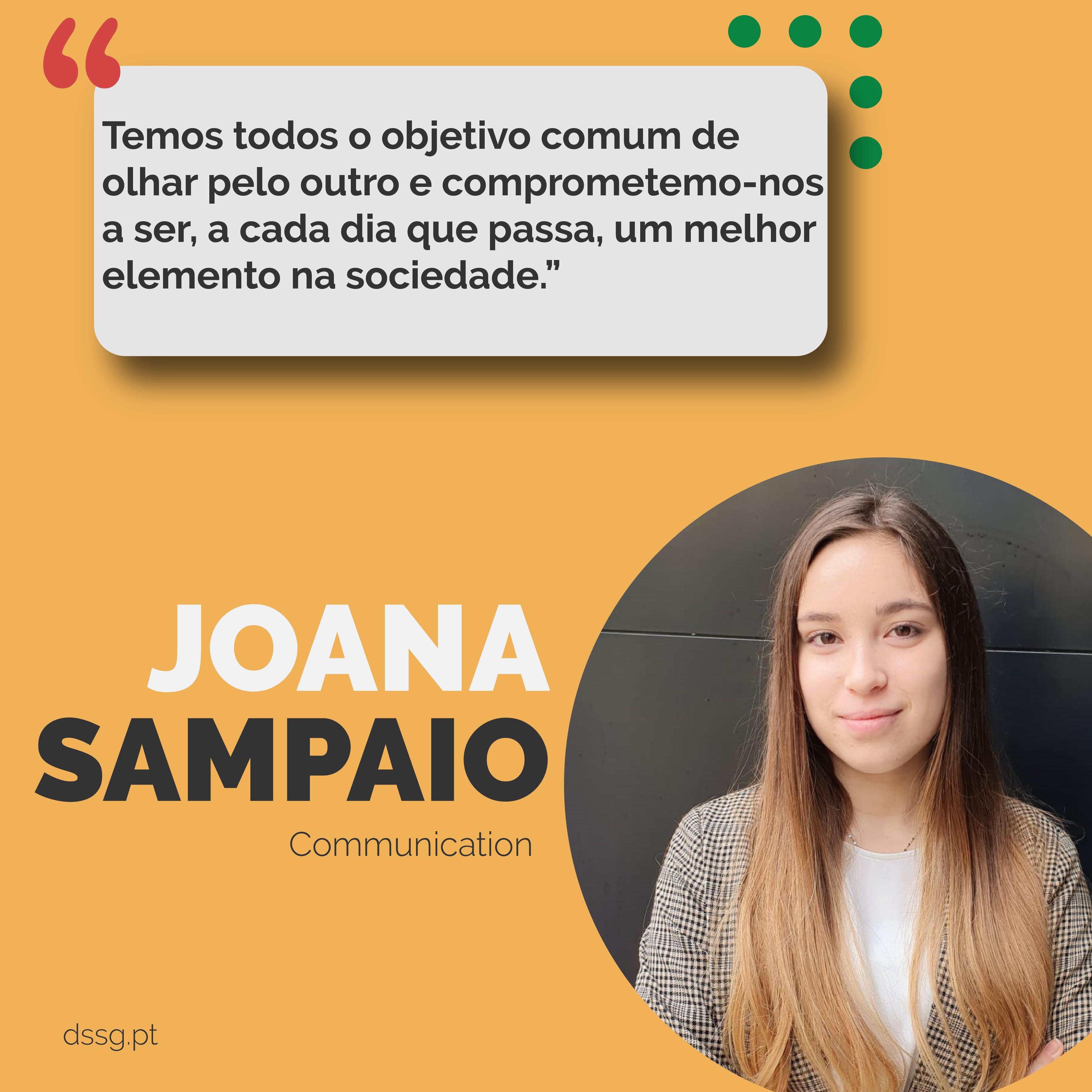 Faces of DSSG: Joana Sampaio [Comunicação]